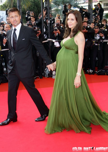 Angelina Jolie Pregnancy Weight Gain – Brad Pitt Thrilled!