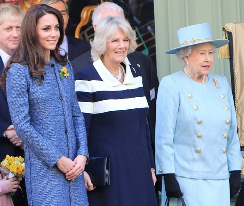 Camilla Parker-Bowles Goes Topless: Threatens Prince Charles and Queen Elizabeth With Divorce Scandal (Photo)
