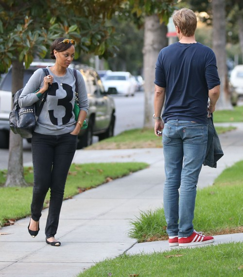 Tyra Banks Dad: Exclusive... Tyra Banks Waits For Boyfriend Erik Asla To