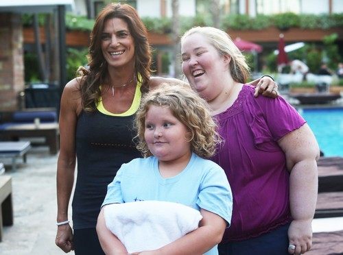 Exclusive... 'Honey Boo Boo' Alana Thompson Supports Mama June Shannon Toward Her 100 Pound Weight Loss Goal!