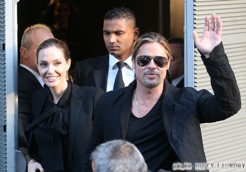 Brad Pitt Gives Up Sex For Angelina Jolie