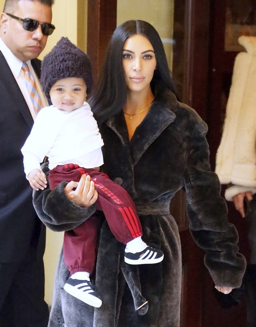 52301815 Kim Kardashian leaves Cipriani with her kids North and Saint West in New York City, NY on February 1, 2017. Later, she went shopping with friends Simon Huck, Jonathan Cheban and Stephanie Sheppard. FameFlynet, Inc - Beverly Hills, CA, USA - +1 (310) 505-9876 RESTRICTIONS APPLY: USA ONLY