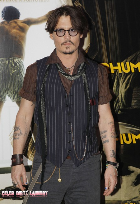 Johnny Depp Hires Marilyn Manson To Play At His Son's 10th Birthday Party
