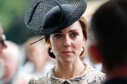 Kate Middleton Looks Exhausted at War Memorial Event – Weight Loss, Infertility Taking Toll?