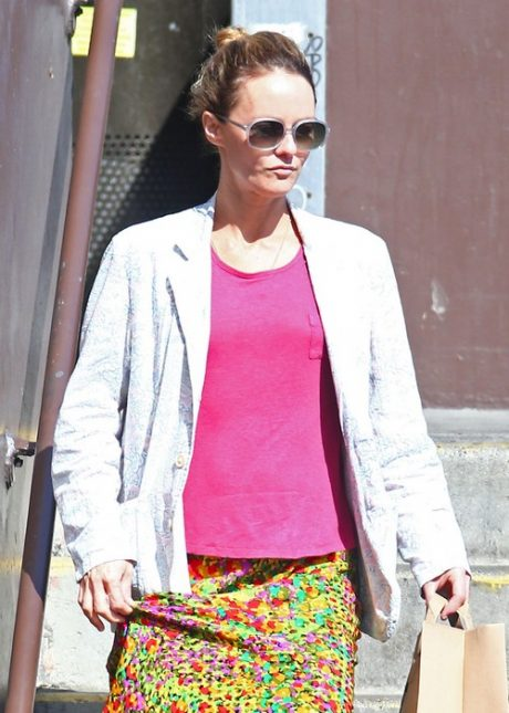 Vanessa Paradis Out And About In LA