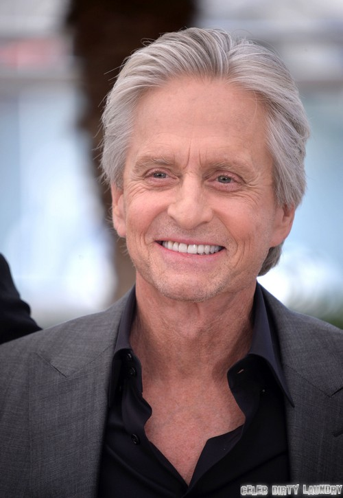 Michael Douglas Talks Kissing Matt Damon For Liberace Movie