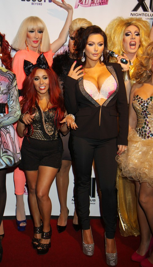 Snooki And J Woww Host The 5th Season Premiere Of Quot Rupaul