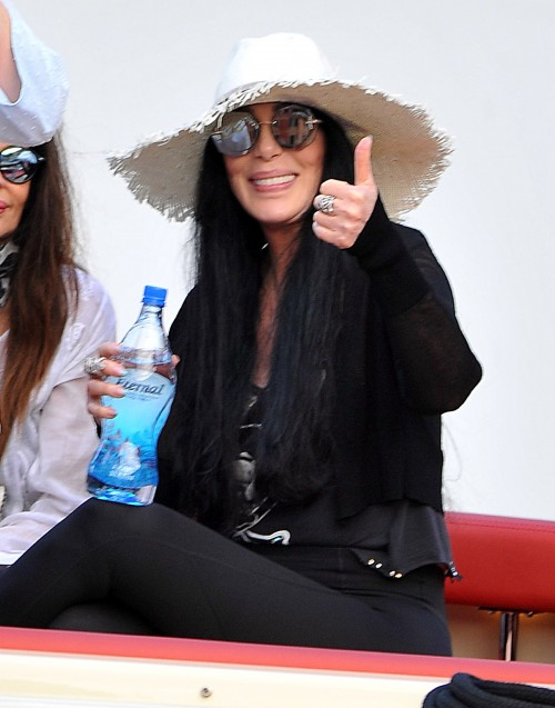 Cher Broke and Near Death Reports Refuted by Italy Vacation Photos - 70 Year Old Singer Looks Healthy, Happy