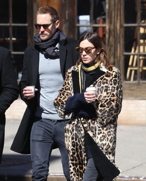 Alexander Skarsgard and Alexa Chung Still Dating: Alexa Making Chris Martin Jealous