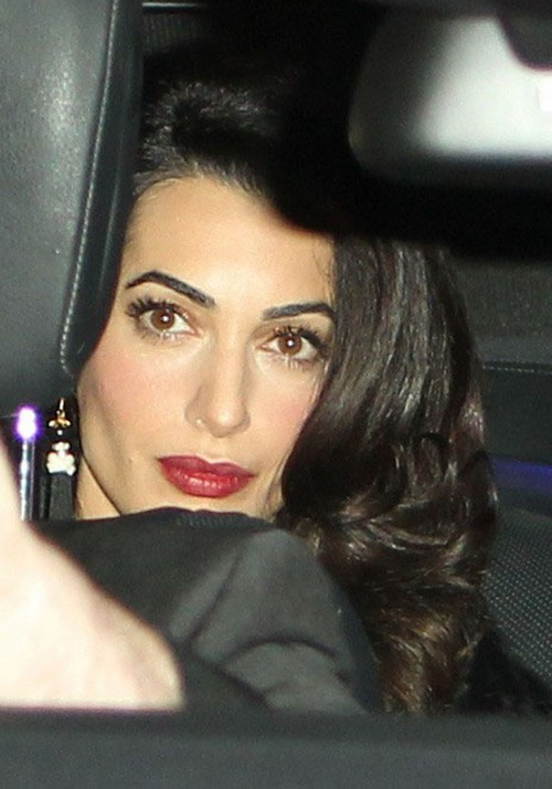 george clooney amp amal alamuddin heading to their uk