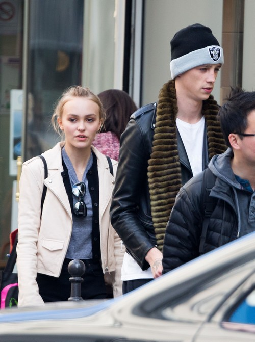 Lily-Rose Depp Spotted With Boyfriend Ash Stymest: Couple Still Going Strong Despite Johnny Depp's Opposition?