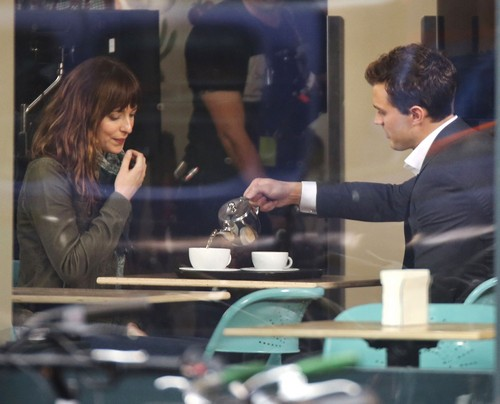 Fifty Shades Of Grey Movie Begins Filming - See First Set of Pics - Where is the Sex? (PHOTOS)