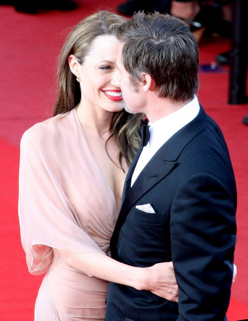 Angelina Jolie Files For Divorce From Brad Pitt - FILE PHOTOS