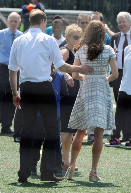 Kate Middleton Sweating And Barefoot Under The Olympic Pressure (Photos) 0726