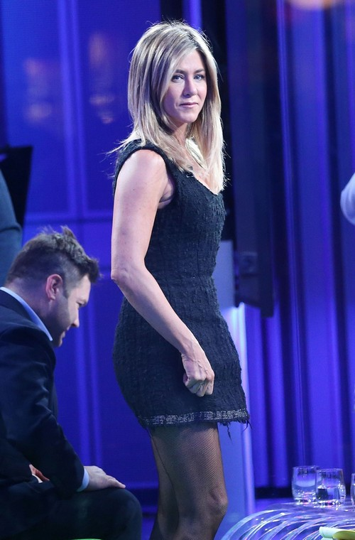 Jennifer Aniston Makes An Appearance On 'The One Show'