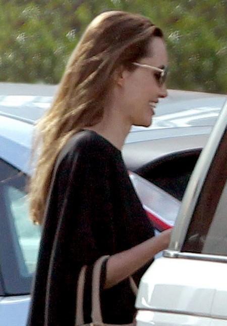Angelina Jolie and Brad Pitt's London Shopping Spree
