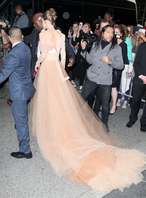 52393460 Guests head out to the 2017 Met Gala which is being held at the Anna Wintour Costume Center. FameFlynet, Inc - Beverly Hills, CA, USA - +1 (310) 505-9876