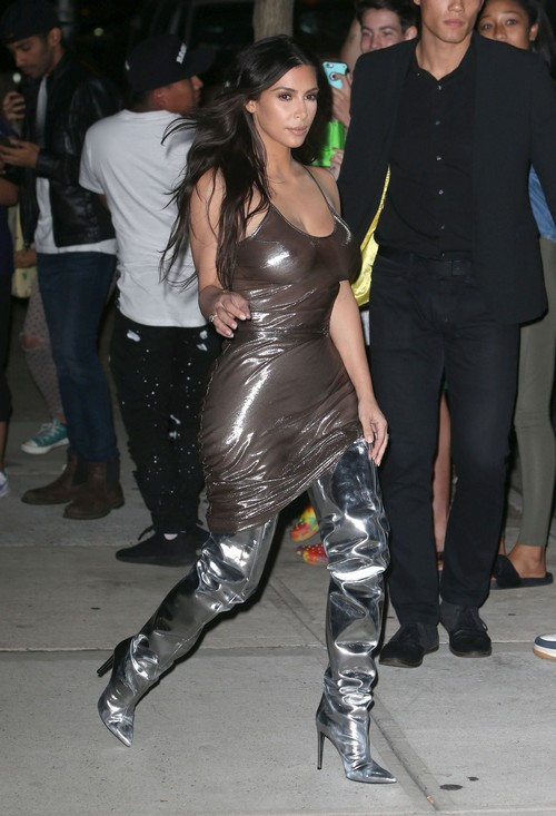 52165889 Reality star Kim Kardashian is seen leaving her apartment in New York City, New York on September 6, 2016. Kim was wearing a see-through dress with no bra as she left her apartment. FameFlynet, Inc - Beverly Hills, CA, USA - +1 (310) 505-9876