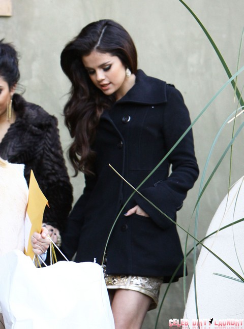 Selena Gomez and Josh Hutcherson Flirting Arm-In-Arm After Golden Globes - Are They A Couple?