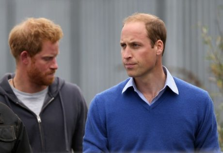 Princes William & Harry Visit The BBC's DIY SOS Team Veteran's Special