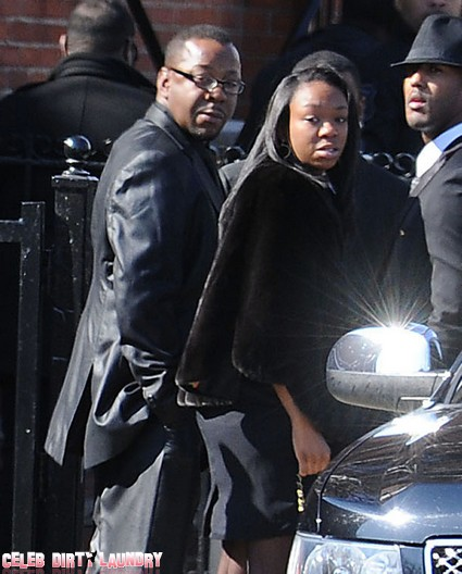 Whitney Houston's Ex-Husband Bobby Brown Left Her Funeral Early