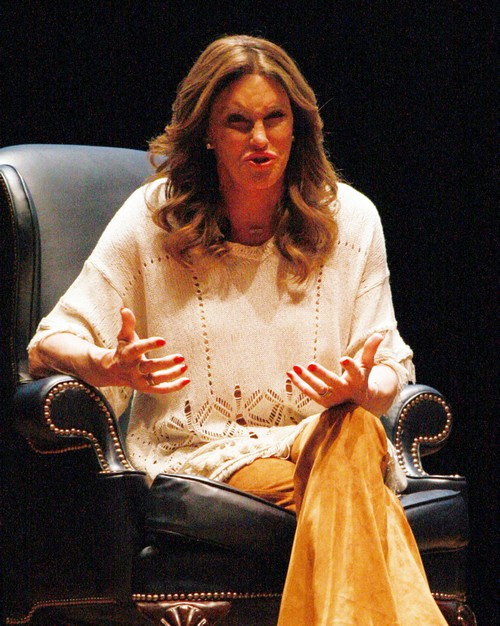 51975195 An evening with Caitlyn Jenner at the Irvine Auditorium on the University Of Pennsylvania Campus in Philadelphia, Pennsylvania on February 17, 2016. FameFlynet, Inc - Beverly Hills, CA, USA - +1 (310) 505-9876