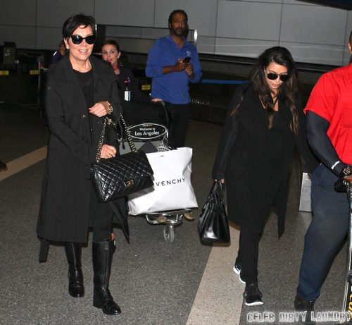 Kris Jenner Crunching Numbers To Sell Kim Kardashian's Baby's Pictures
