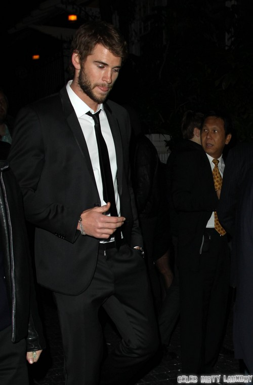 Liam Hemsworth In Australia; On A Break From Miley Cyrus