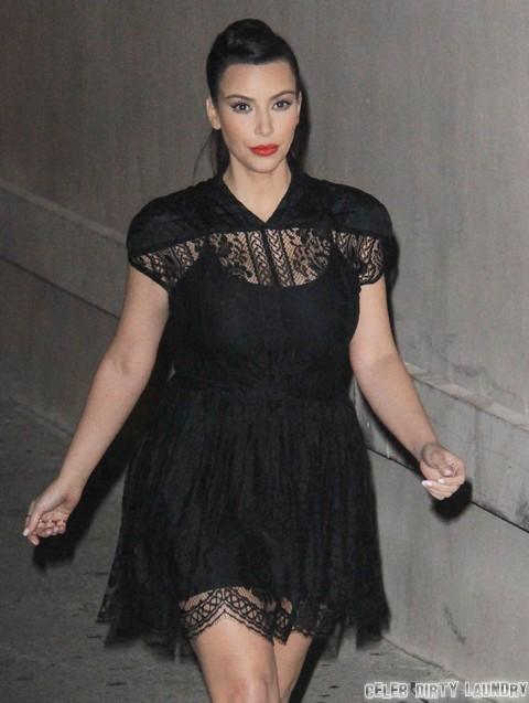 Kim Kardashian's Baby Live On Kris Jenner's New Talk Show, Kanye West Says No!