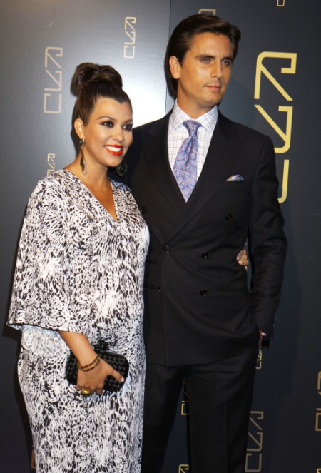 Kourtney Kardashian Gives Birth To Baby Girl, Penelope Scotland 0709