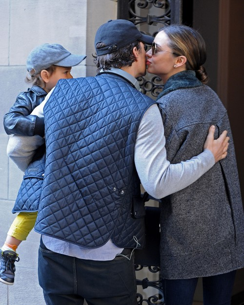 Orlando Bloom And Miranda Kerr Maintaining Loving Relationship For Son Flynn Bloom - Family Affection Again (PHOTOS)