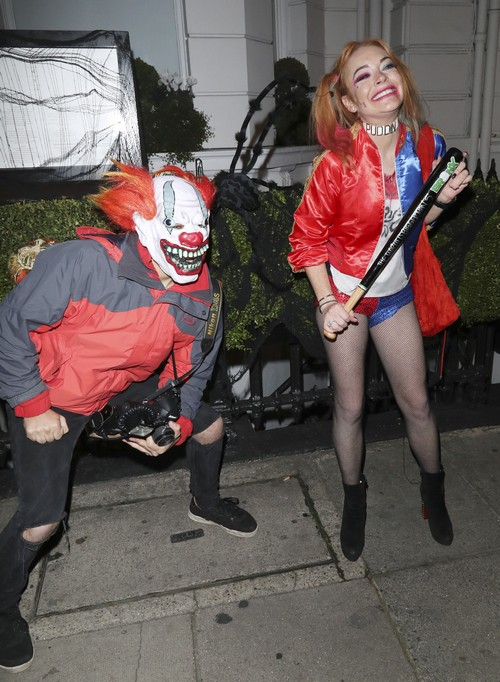 Lindsay Lohan Fired By Own PR Manager After Nasty Halloween Fight
