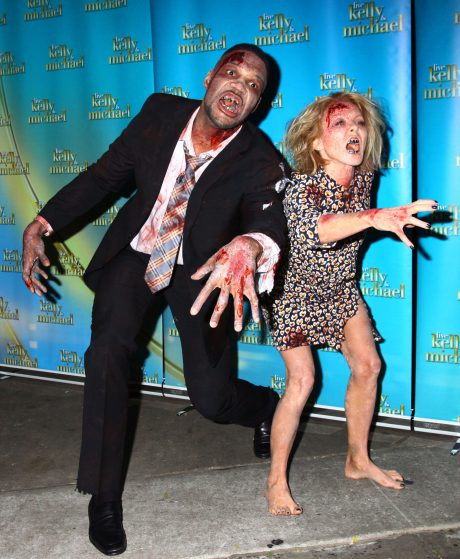 """""""Live With Kelly and Michael"""" Halloween Show"""