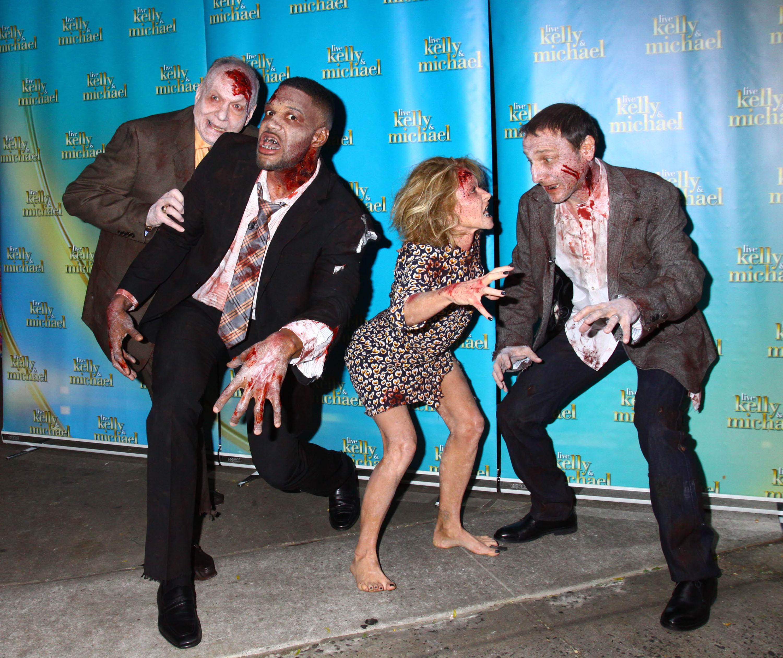 Kelly Ripa At War With Michael Strahan, Desperate To Beat 'Good Morning America' Ratings