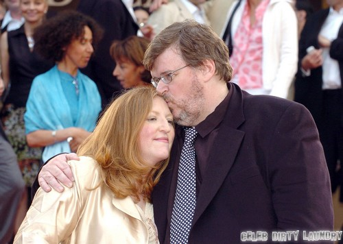 Michael Moore & Wife Kathleen Glynn Call It Quits  **FILE PHOTOS**