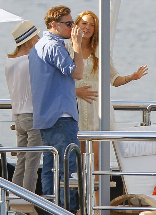 Leonardo Dicaprio And Blake Lively Get Close In Cannes Celeb Dirty
