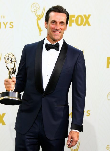 Jon Hamm at The The 67th Annual Primetime Emmy Awards Press Room in LA