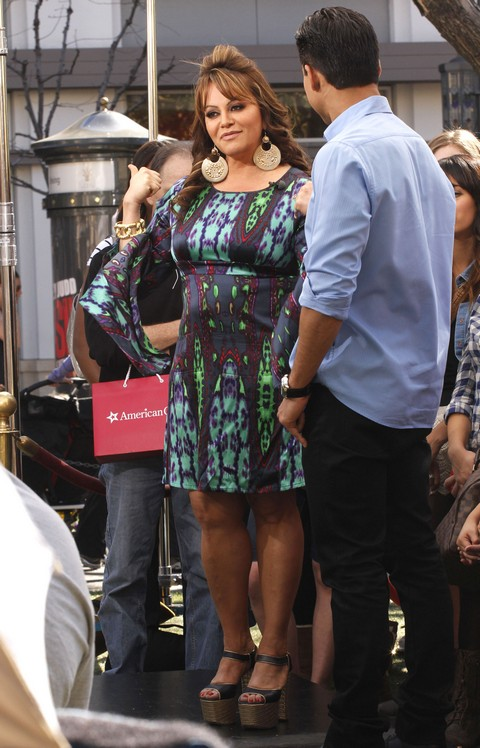 Jenni Rivera Doing An Interview For Extra Celeb Dirty