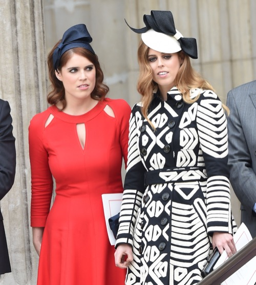 Kate Middleton Gets Nasty Looks from Princess Eugenie and Princess Beatrice at Queen Elizabeth Birthday Celebration