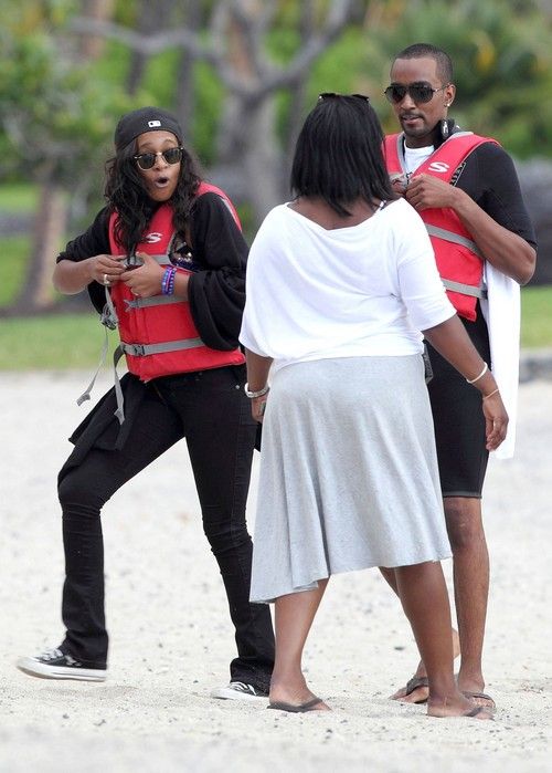 Exclusive Bobbi Kristina Brown And Nick Gordon Film