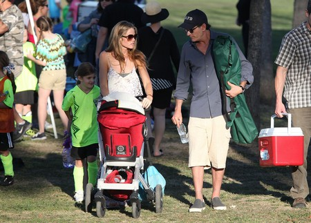 Charlie Sheen Loses His Chance With Denise Richards