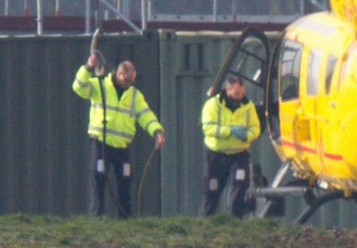 Prince William Assumes Air Ambulance Responsibilities Immediately Following Holiday Break