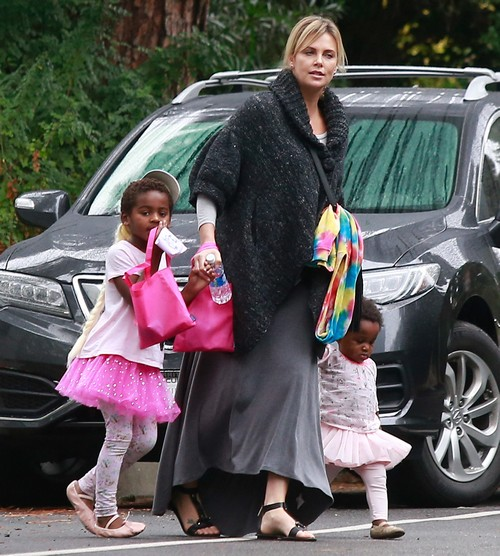 Charlize Theron Admits To Gaining 30 Pounds Calls