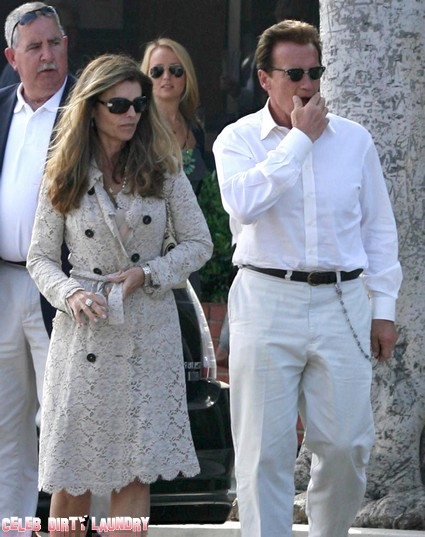 Arnold Schwarzenegger And Maria Shriver Suffer Through Marriage Counselling