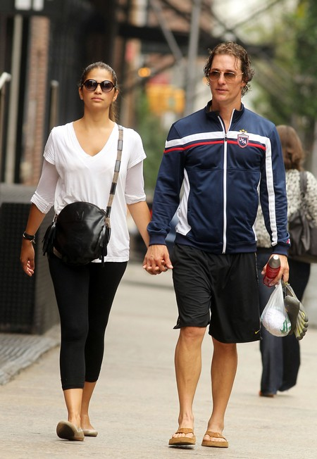 Matthew McConaughey Expecting  - Third Times A Charm!