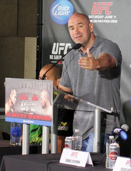 MMA Fighter Dan Quinn Threatens to Kill UFC's Dana White