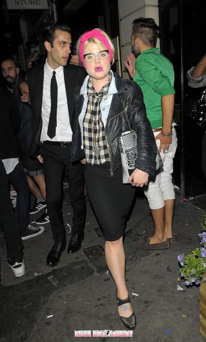 Kelly Osbourne Shouts Out: 'Christina Aguilera Is A Fat Bitch'