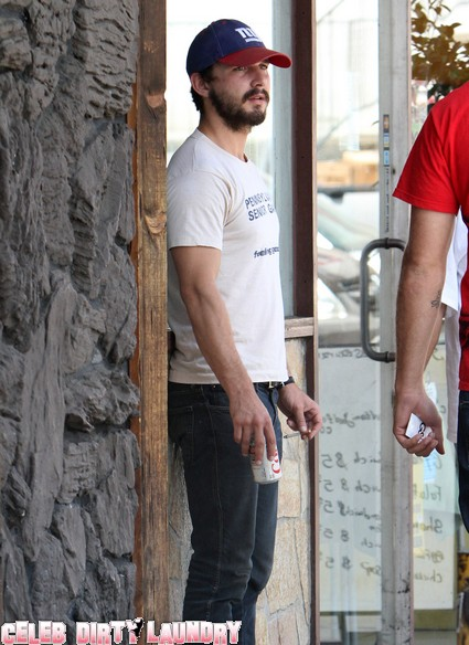 Shia LaBeouf Is Cracking Up... Again