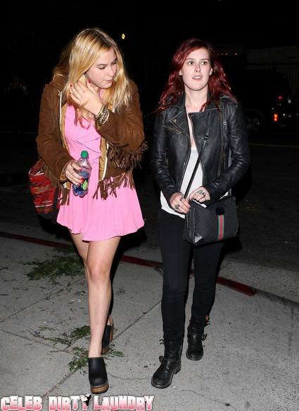 Rumer and Scout Willis' Sisterly Date Night To Adele
