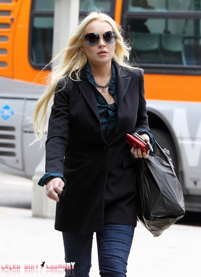 Lindsay Lohan Can't Face Court Without Mama Dina By Her Side